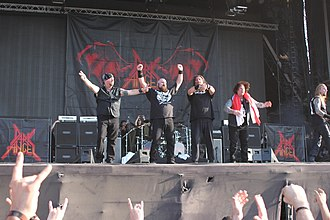 Dark Angel (band) - Dark Angel at Hellfest, 2014