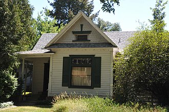 National Register of Historic Places listings in Ada County, Idaho - Image: WALTER ABBS HOUSE BOISE, ADA COUNTY