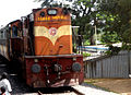 WDG-3A loco with Bodhan Passenger at Medchal.jpg
