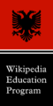 WEP logo Albania flag map.png