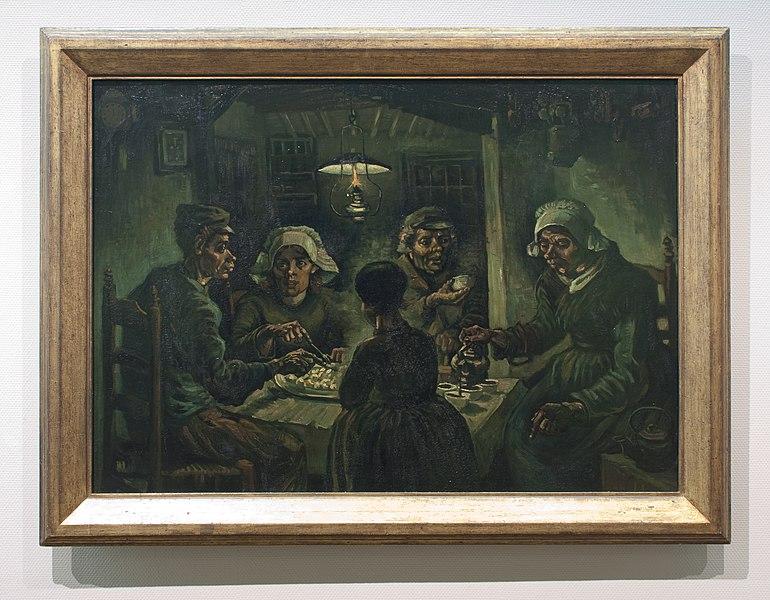 File:WLANL - Pachango - De aardappeleters, Vincent van Gogh (1885).jpg