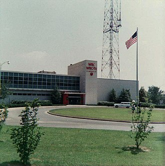 WRC-TV - WRC-TV's studio/transmitter facility, which also houses NBC's Washington operations, have been in use since 1958. (1962 photograph)