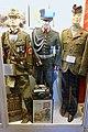 WW2 Uniform of German etc. RAD Unterfeldmeister der Reichsarbeitsdienst + Wehrmacht Major Parade + British Army Scots Guards colonel in tartan trews trousers Glengarry cap etc Lofoten krigsminnemuseum Norway 2019 825.jpg
