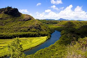 Wailua River - Image: Wailua River, Kauai