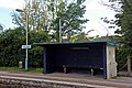 Waiting shelter, Cefn-y-bedd railway station (geograph 4025175).jpg