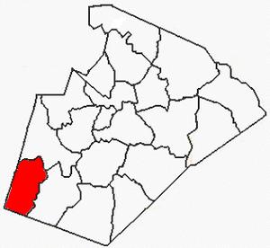 Buckhorn Township, Wake County, North Carolina - Image: Wake County NC Buckhorn Township