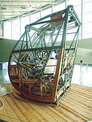 Wako CG-4A cockpit framework