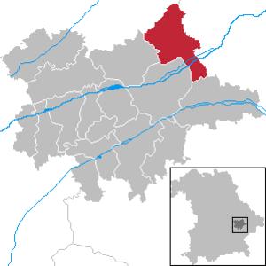 Wallersdorf - Image: Wallersdorf in DGF