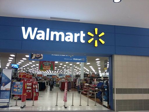 Walmart Pincourt Mall Entrance