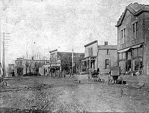 Walton, Kentucky - Main Street, circa 1908