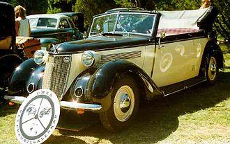Wanderer (company) - Wanderer W 23 Cabriolet 1938