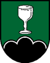 Coat of arms of Schwarzenberg in the Bohemian Forest