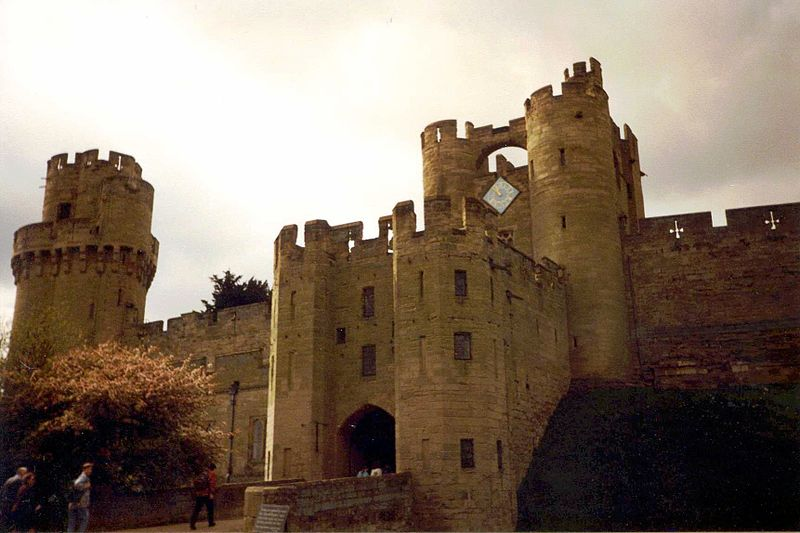 Warwick castle churchill