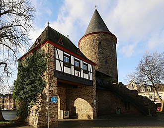Rheinbach - Medieval fortification, partly constructed on the remains of the Roman aqueduct