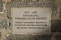 Wasserschloss Mitwitz Torbau Sanierungstein (MGK18652).jpg