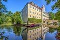 Wasserschloss Sandizell - Seitenansicht.tif