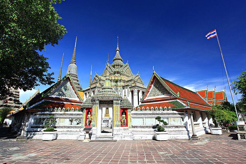 File:Wat Pho Bangkok Thailand.jpg