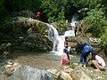 Waterfall in trikhandi.jpg