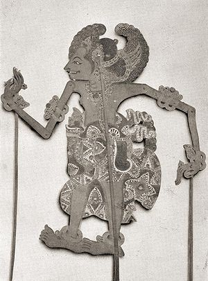 Wayang - Wayang shadow-puppet (Bali, early 20th century)