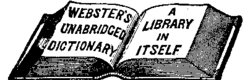 Image illustrative de l'article Dictionnaire Webster