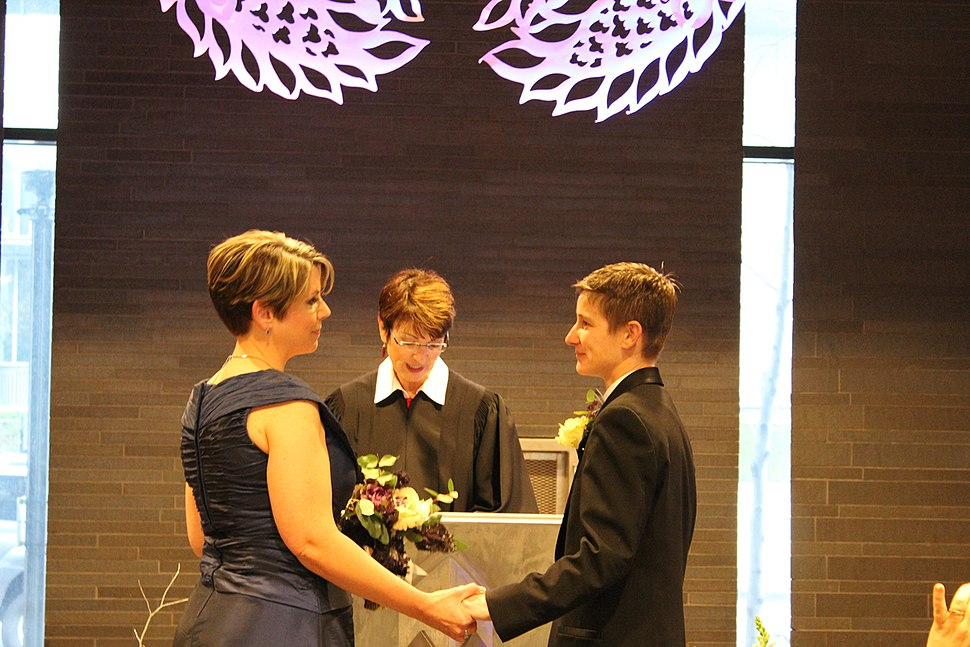 Wedding at City Hall, Dec. 9, 2012 (14724380274)