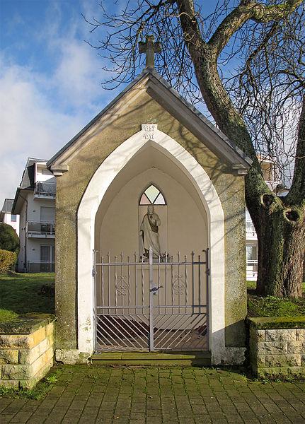 Wayside chapel in Mamer, Luxembourg, rue de la Libération