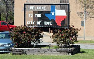 Howe, Texas - Welcome to Howe