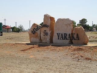 Yaraka Town in Queensland, Australia