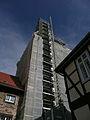 Wennigsen ( Deister ) Klosterkirche, Turmsanierung.jpg