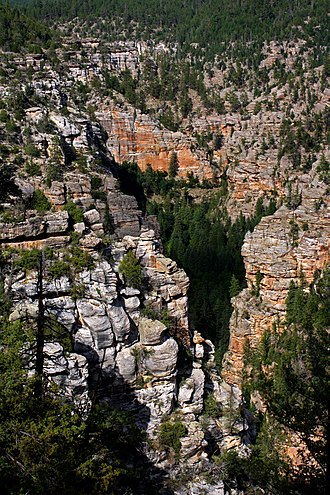Yavapai County, Arizona - West Clear Creek Wilderness