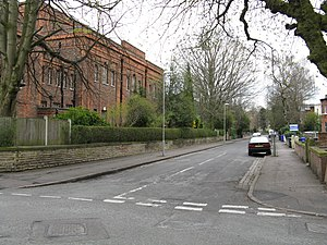 History of the Jews in Manchester - A synagogue in Queenston Road, West Didsbury