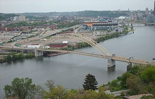 West End Bridge (Pittsburgh) bridge over the Ohio River in Pittsburgh, Pennsylvania