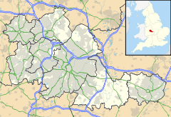 Wren's Nest is located north west of Dudley town centre