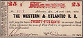 Western & Atlantic Railroad 25¢ bearer certificate 1862.jpg