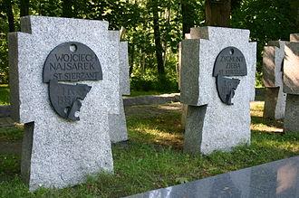 Westerplatte - Image: Westerplatte Graves 1