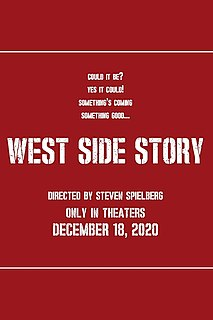 <i>West Side Story</i> (2021 film) 2021 film directed by Steven Spielberg