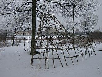 Whitefish Island - Image: Whitefish Island in winter 2