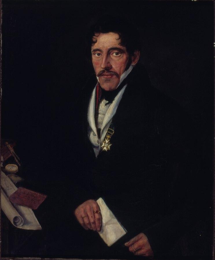 Retrato de Wilhelm Ludwig Von Eschwege (Barão Guilherme de Eschwege)