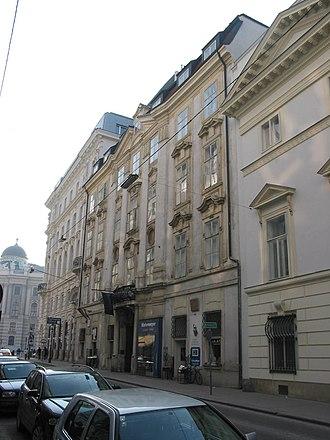 Herrengasse - Palais Wilczek,  Herrengasse 5