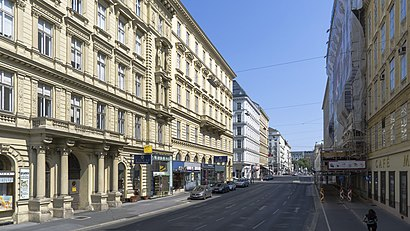 How to get to Operngasse with public transit - About the place