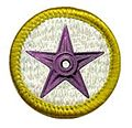 WikiProject Scouting barnstar purple merit badge.jpg
