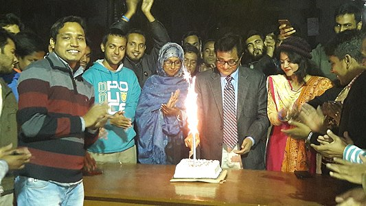 Wikipedia's 39th Birthday celebration in Rajshahi.jpg