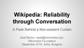 Wikipedia - Reliability through Conversation (Sofia).pdf