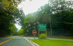 Wildwood State Park from North Wading River Road.jpg
