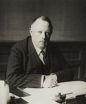 Willem Hendrik Keesom - Image: Willem Keesom 1926