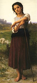 William-Adolphe Bouguereau (1825-1905) - Young Shepherdess Standing (1887).jpg