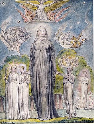 Ode on Melancholy - Image: William Blake Melancholy 1816 1820