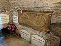William Henry Harrison Grave plaque.jpg