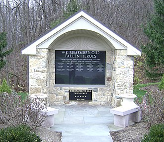 Williams Township, Northampton County, Pennsylvania - The Williams Township Veterans Memorial.