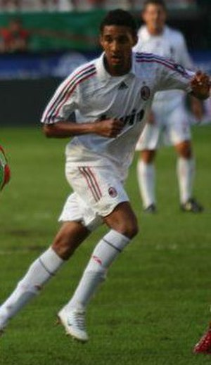 Willy Aubameyang - Aubameyang while playing for Milan.
